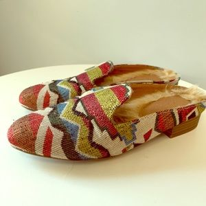 Universal Thread Colorful Aztec Mules